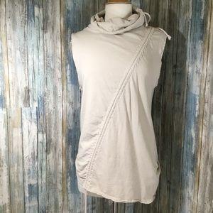 Zara Man men's sleeveless cotton/linen sweater (M)